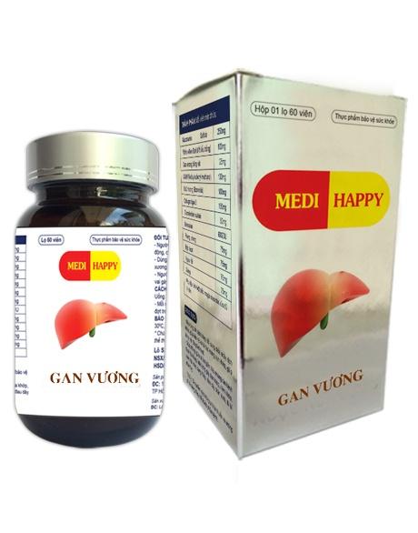 Thảo dược Gan Vương Medi Happy