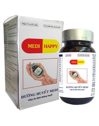 Thảo dược đường huyết Medi Happy