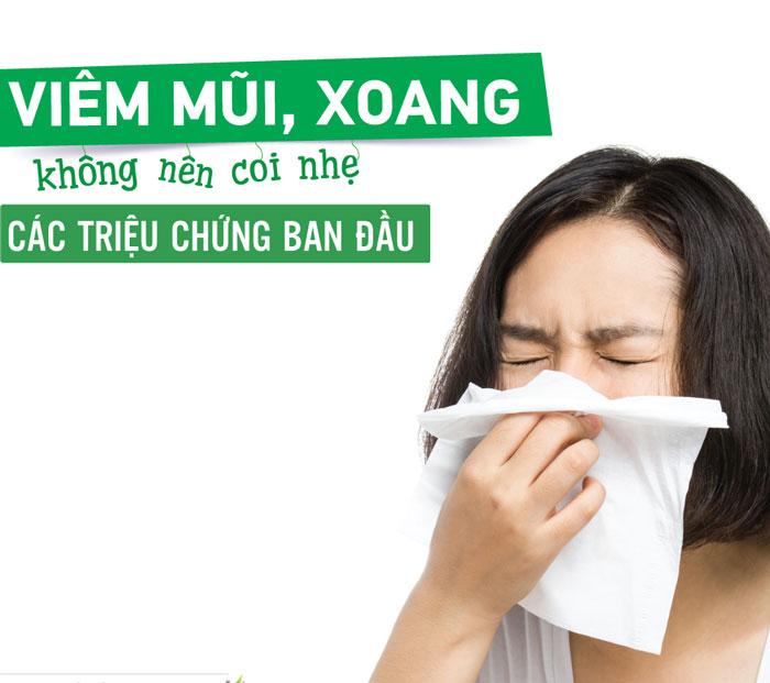 Những triệu chứng viêm xoang mũi bạn cần biết để phòng ngừa