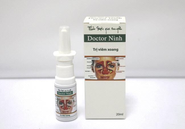 Thuốc trị viêm xoang mũi Doctor Ninh