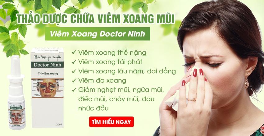 Thảo dược trị viêm xoang Doctor Ninh