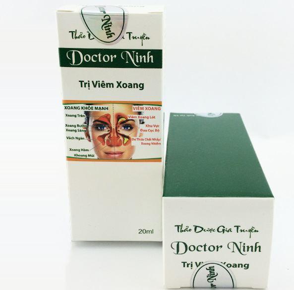Thuốc trị viêm xoang Doctor Ninh có tốt không?