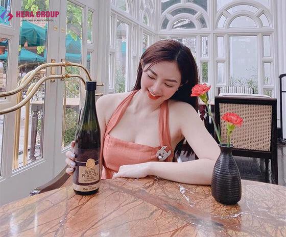 cách dùng nước uống đẹp da Royal placenta-thaoduockhoe.com