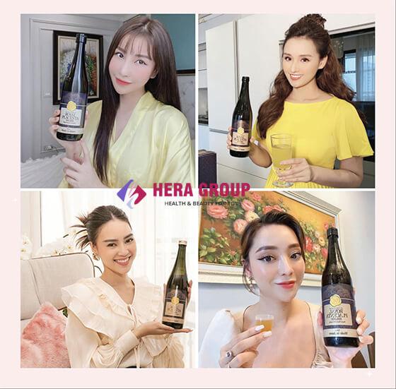 review nước uống đẹp da royal placenta-thaoduockhoe.com
