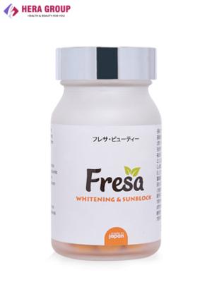 Viên uống trắng da chống nắng Fresa