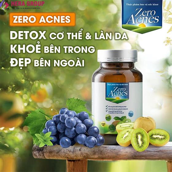 công dụng viên uống hoa quả zero acnes-thaoduockhoe.com