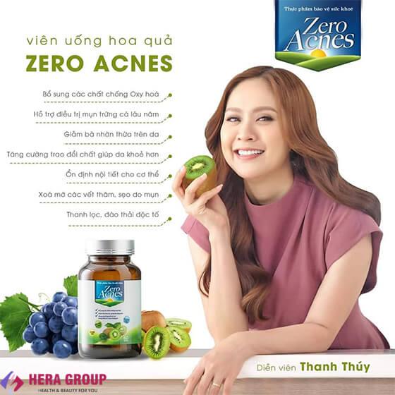 đối tượng dùng viên uống hoa quả zero acnes-thaoduockhoe.com