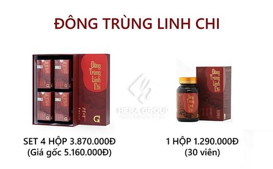 viên uống đông trùng linh chi set 4 hộp-thaoduockhoe.com