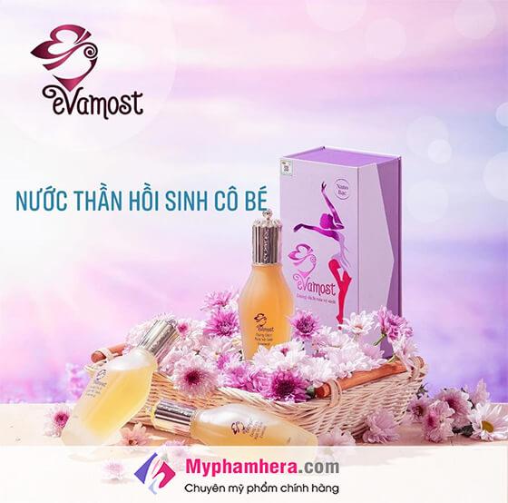 Thành phần dung dịch vệ sinh phụ nữ Evamost-thaoduockhoe.com