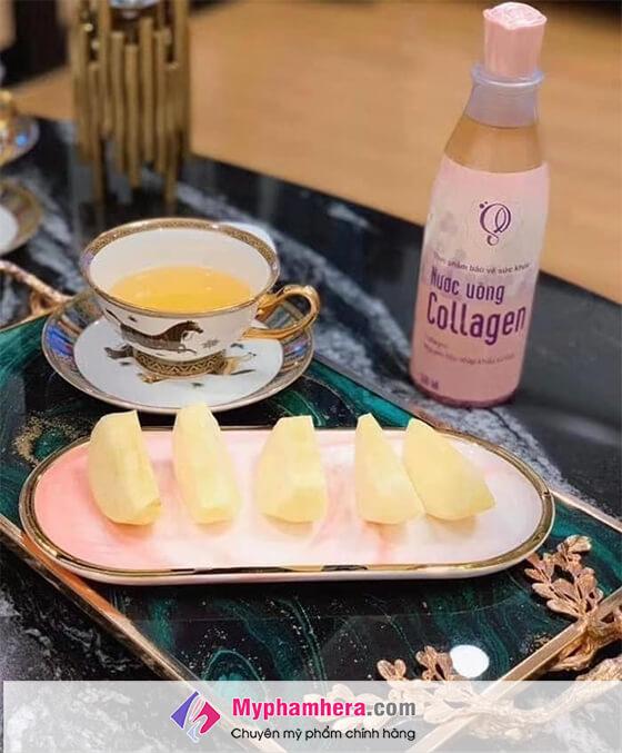 cách sử dụng nước uống collagen schon-thaoduockhoe.com