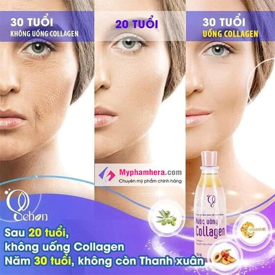 công dụng nước uống collagen schon-thaoduockhoe.com
