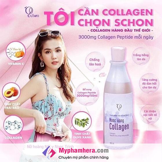 thành phần nước uống collagen schon-thaoduockhoe.com