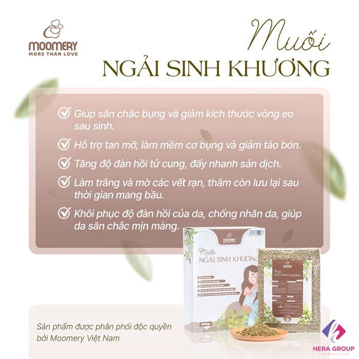 công dụng muối ngải sinh khương moomery-thaoduockhoe.com