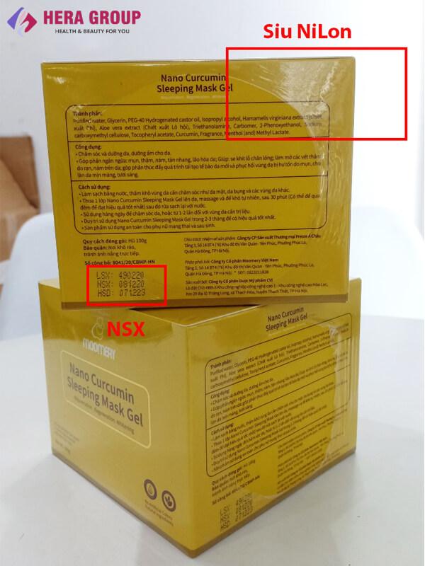lô date gel mặt nạ ngủ nghệ nano moomery-thaoduockhoe.com
