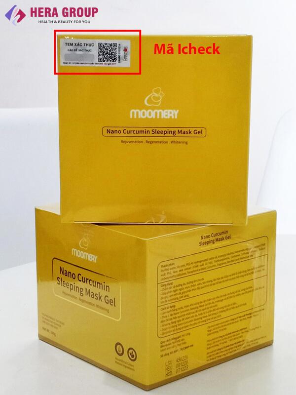 mã icheck gel mặt nạ ngủ nghệ nano moomery-thaoduockhoe.com