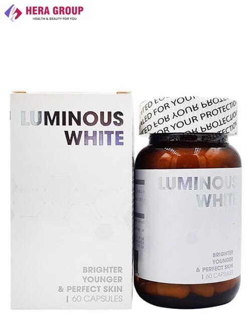 Viên uống trắng da Luminous White