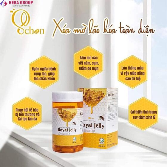 công dụng viên sữa ong chúa Schon-thaoduockhoe.com