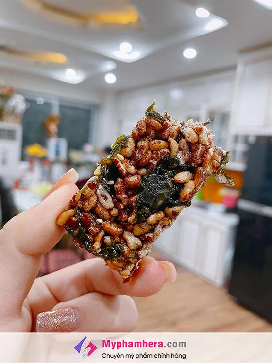 sử dụng thanh cơm lứt ngũ cốc herbslim như thế nào-thaoduockhoe.com