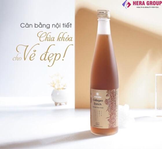 công dụng nước uống collagen hebora có tốt không -thaoduockhoe.com