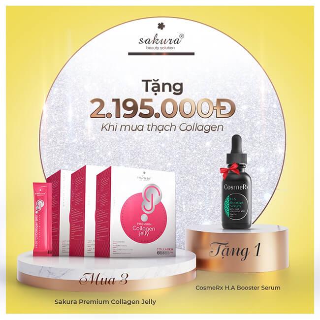 khuyến mãi thạch collagen sáng da sakura premium jelly-thaoduockhoe.com