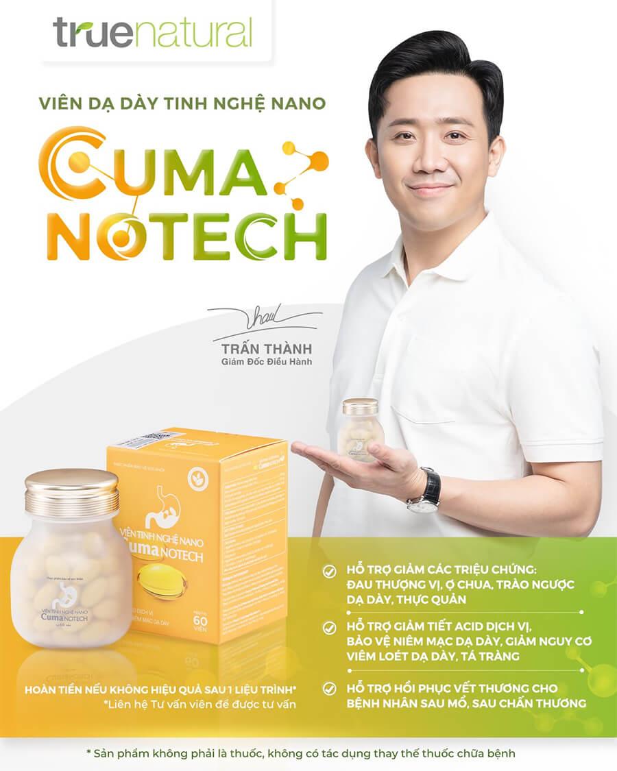 Công dụng viên tinh nghệ nano cuma Notech-Thaoduockhoe.com
