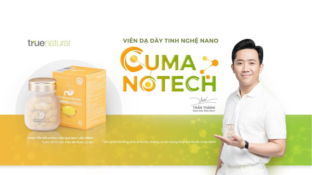 Viên tinh nghệ Nano Cuma Notech- Bảo bối cứu nguy của người đau dạ dày