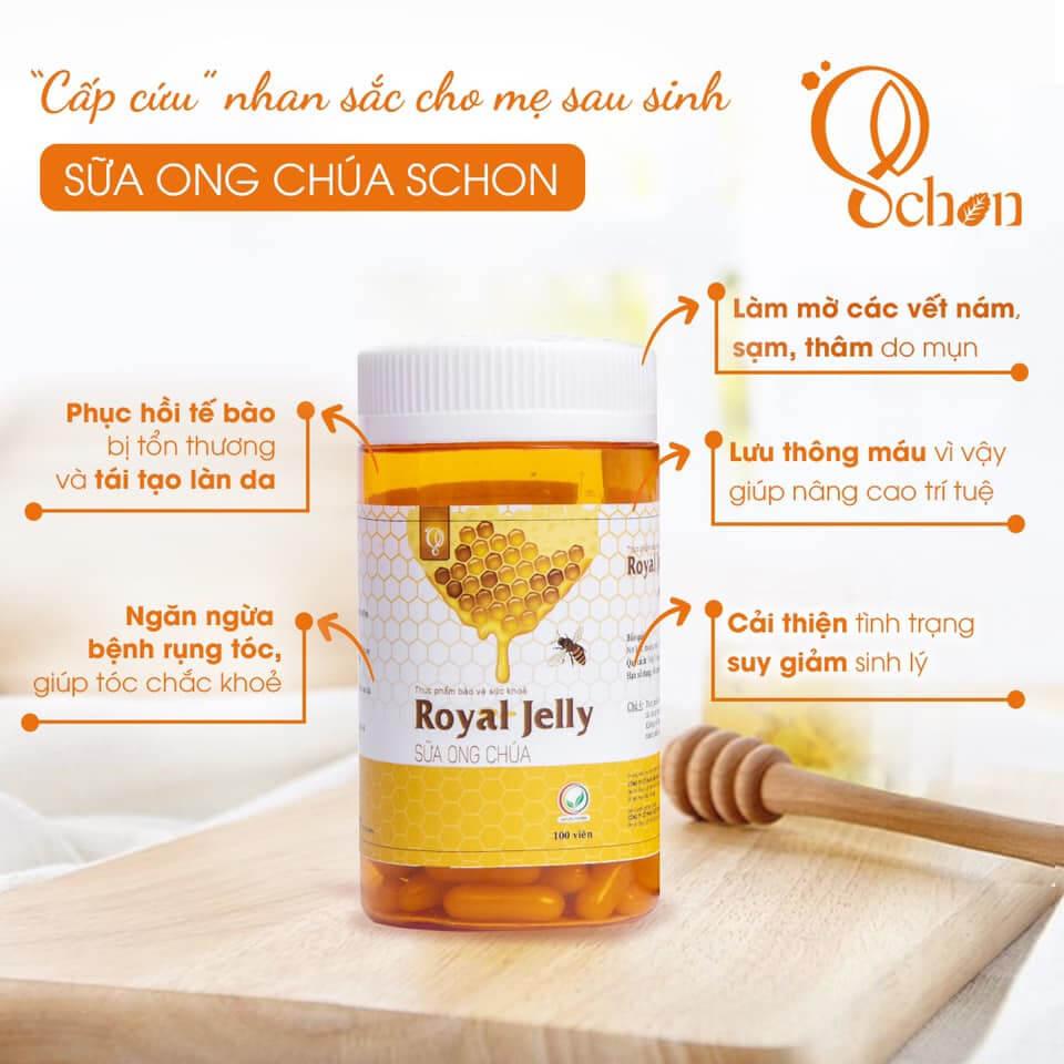 Viên uống sữa ong chúa Schon-Thaoduockhoe.com