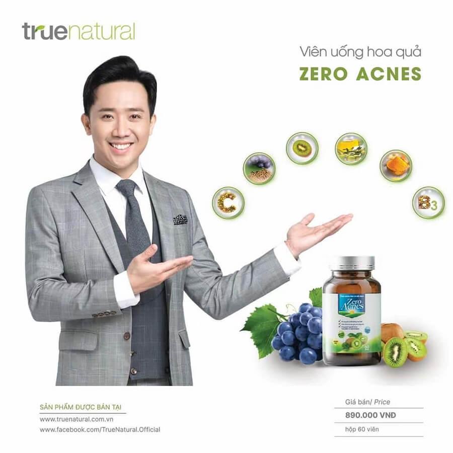 Viên uống hoa quả zero acnes-Thaoduockhoe.com