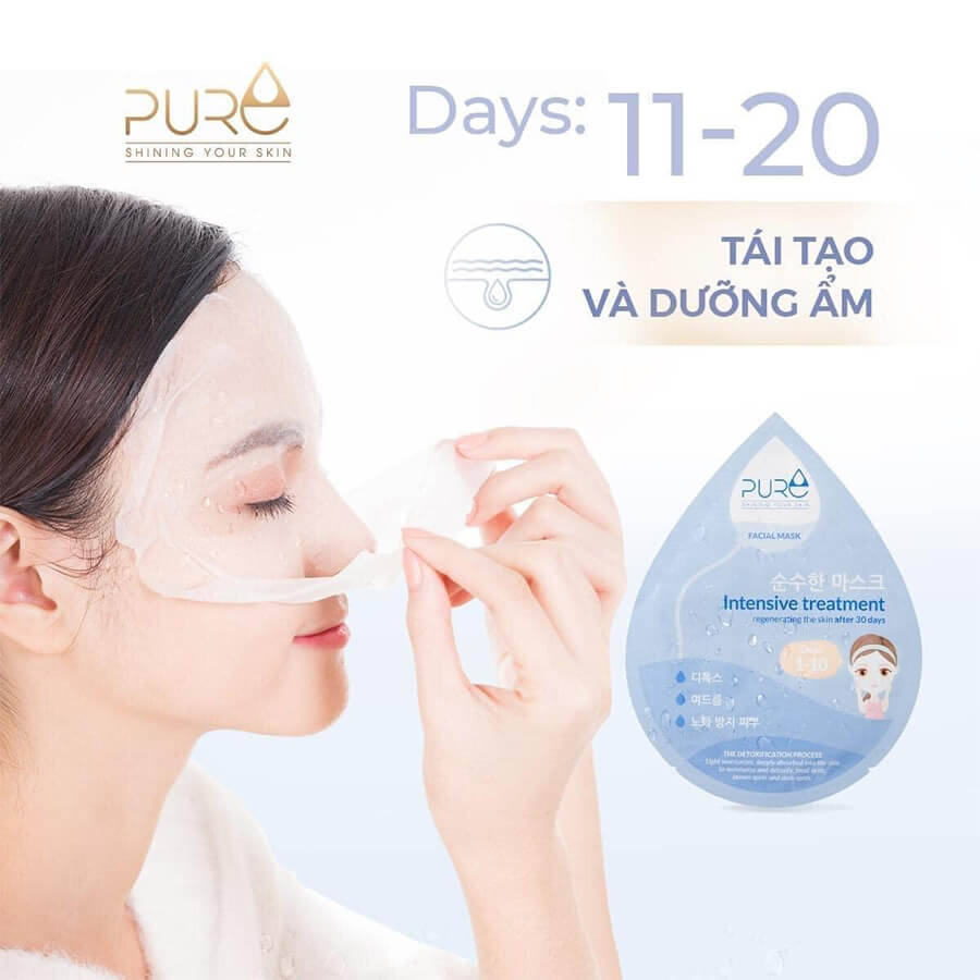 Mặt nạ luxury pure mask-Thaoduockhoe.com