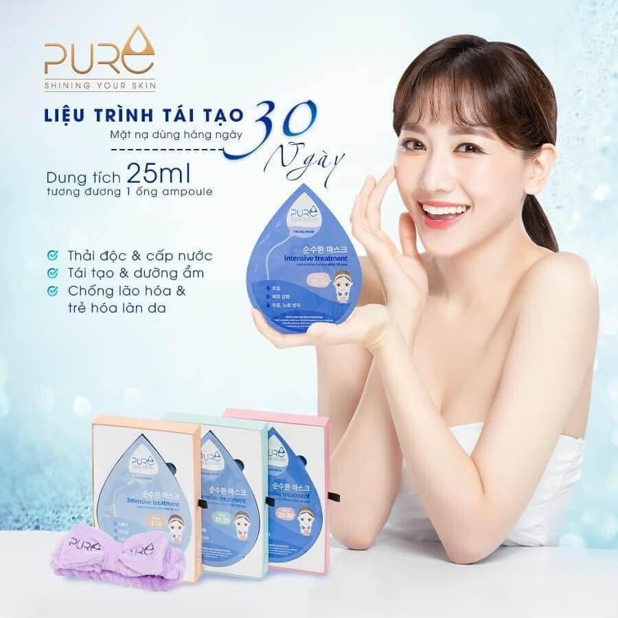 Chăm da đẹp chuẩn Hàn nhờ mặt nạ thảo mộc Luxury Pure Mask