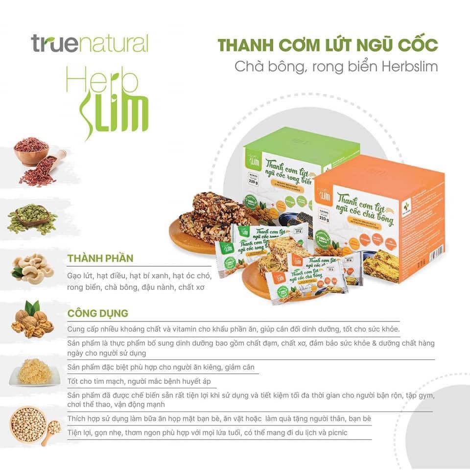 Thanh cơm lứt ngũ cốc Herbslim-Thaoduockhoe.com