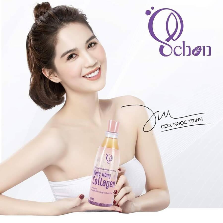 Làm đẹp da từ sâu bên trong với nước uống Collagen Schon